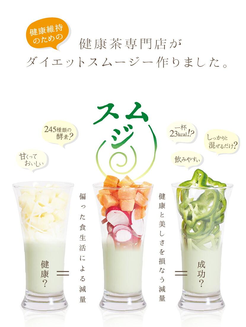 健康茶専門店が健康維持のためのスムージー作りました
