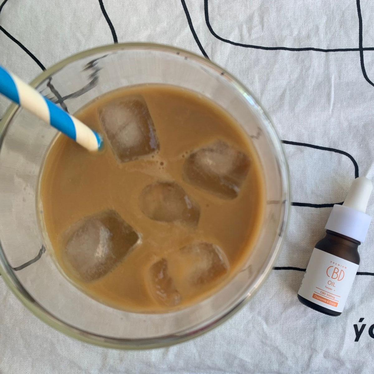 デカフェコーヒー&カモミールオレンジ