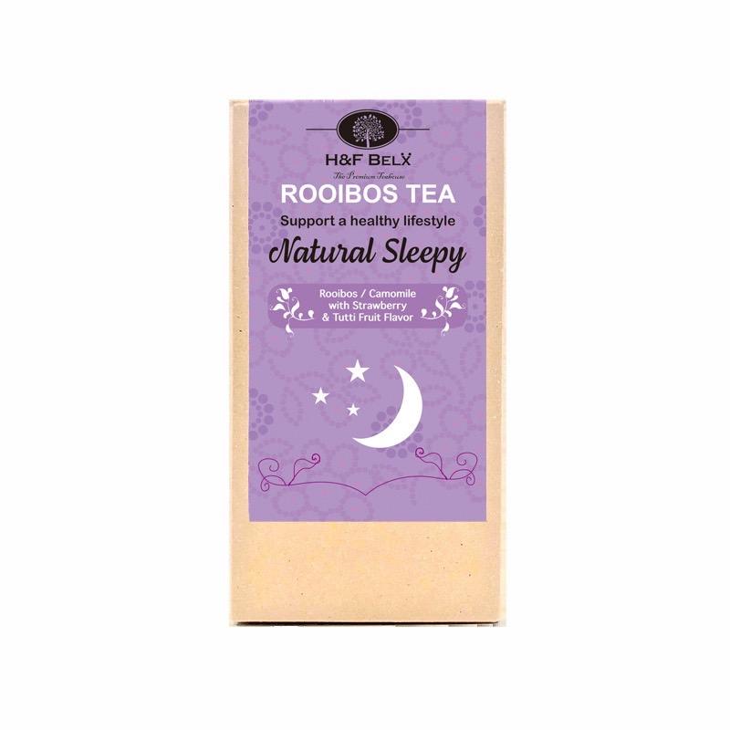 スリーピータイムティー|リラックスできるハーブとルイボスティーを合わせた就寝前に飲んで快眠をサポート