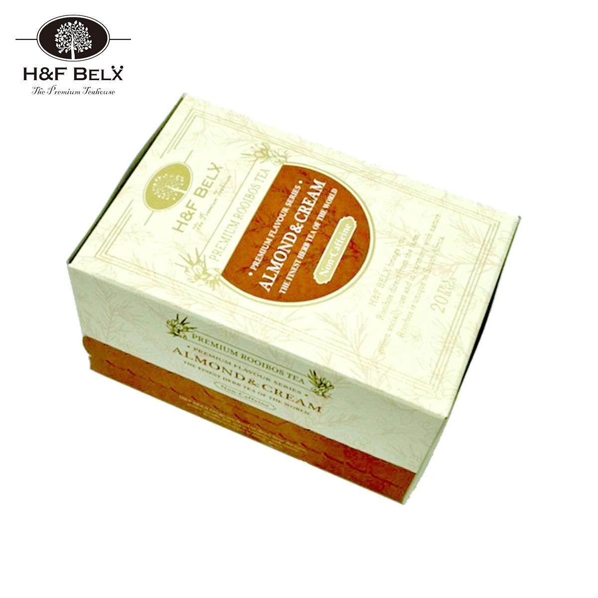 アーモンドクリームティー|アーモンドの香りをつけたフレーバーティー。甘いのにノンシュガーノンカロリーでダイエットにもおすすめ。個包装のルイボスティー