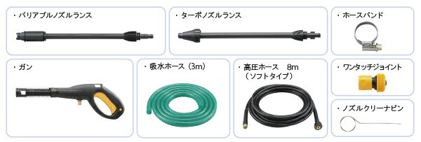 AJP-1620A 標準付属品画像