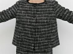 ジャケット裾 画像