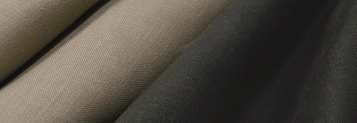 日本製 リネン 平織り 無地