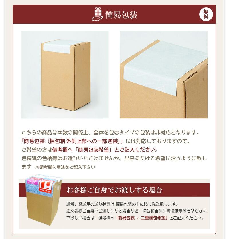 簡易包装について