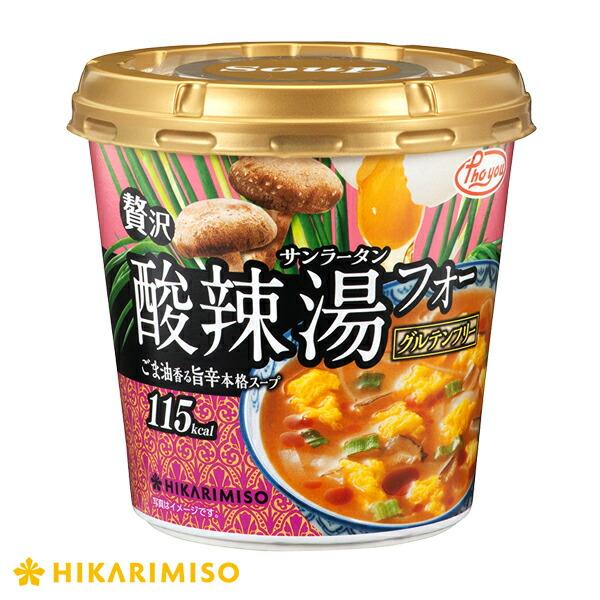 酸辣湯(サンラータン)フォー×6カップ