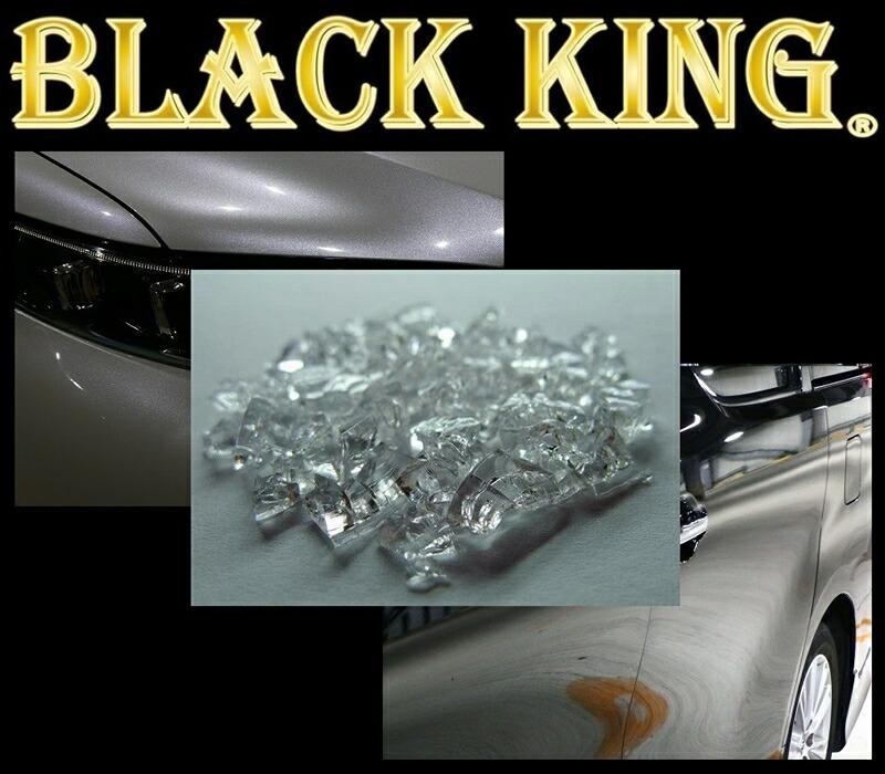 100回洗車しても撥水持続 動画有 硬化型 ワックスより簡単に施工可能 6年耐久 ブラックキング セラミック ガラスコーティング  送料無料