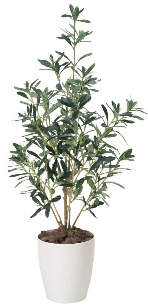 光触媒 光の楽園オリーブ90【インテリアグリーン 人工観葉植物】