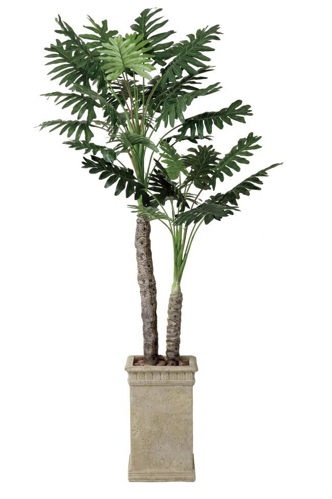 光触媒 光の楽園セローム2.0m【インテリアグリーン 人工観葉植物】