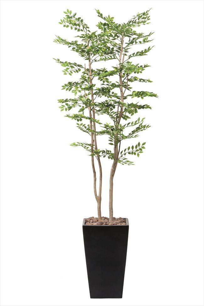 光触媒 光の楽園アートゴールデンリーフ1.8m【インテリアグリーン 人工観葉植物】