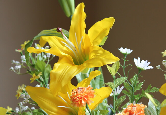 光触媒 造花 観葉植物 光の楽園