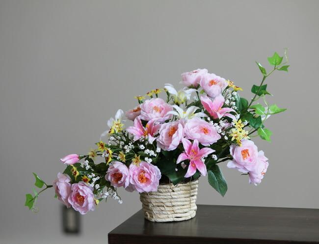 光触媒 光の楽園 メルヘン 【アートフラワー 造花 】