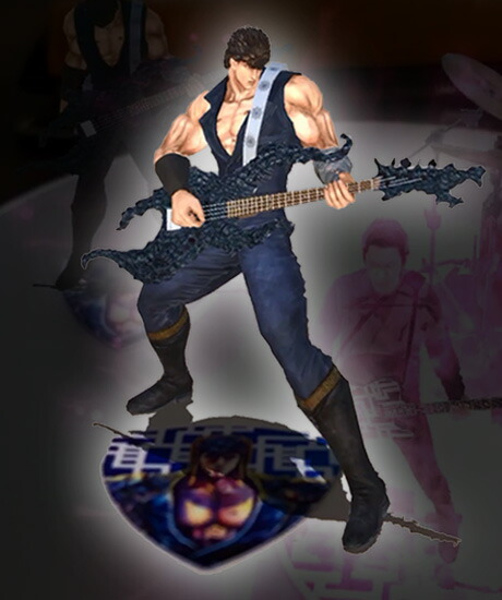 HOTEI×北斗の拳 VIRTUAL 3D FIGURE