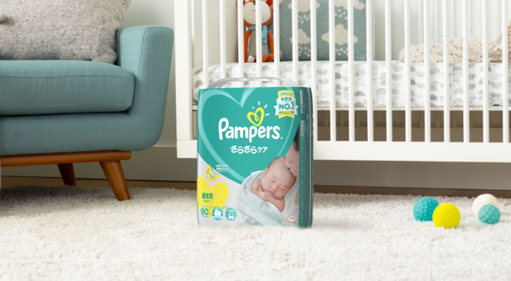 パンパース オムツ テープ さらさらケア 新生児(5kgまで)114枚×3パック