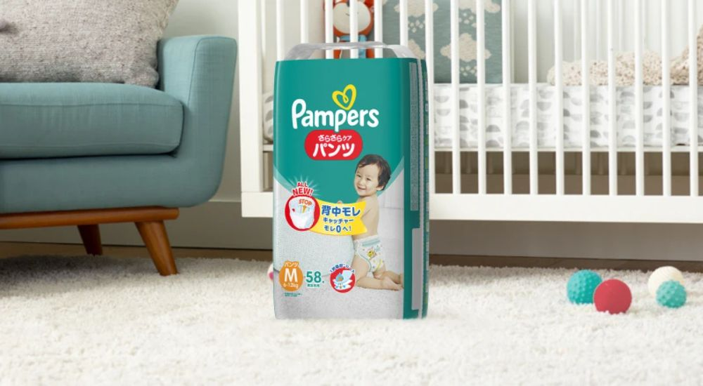 パンパース おむつ パンツ さらさらケア S(4-8kg)94枚×3パック