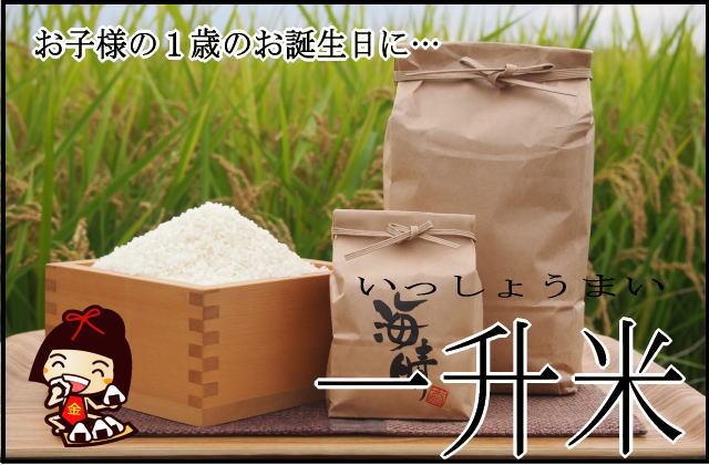 一升餅 一生餅 一升米 一生米