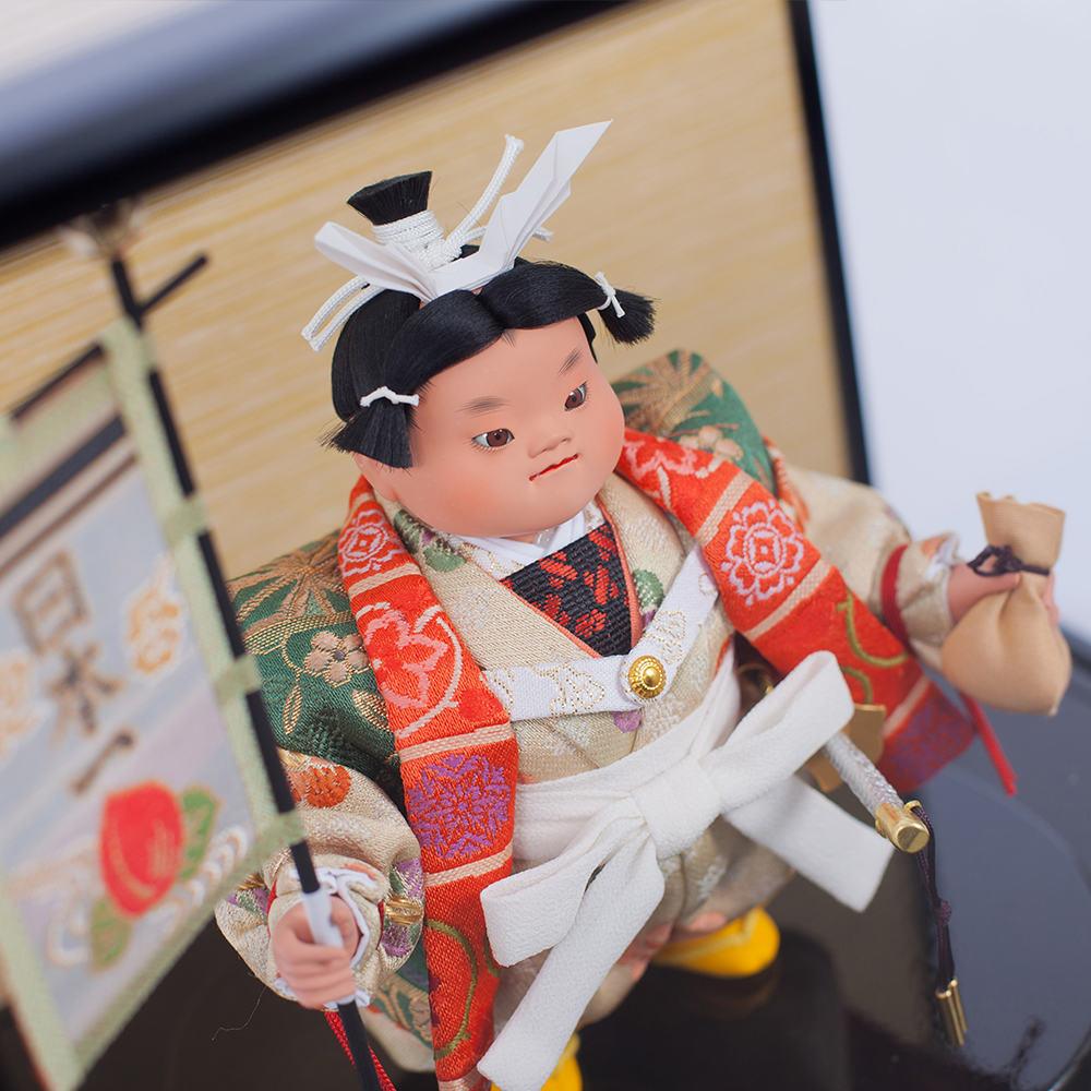 五月人形 久月 ケース飾り ケース入り 5月人形 コン …