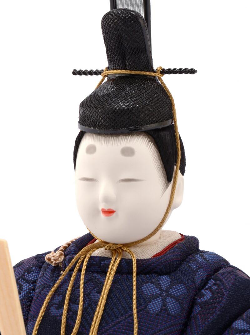 柿沼東光作 瑠璃雛