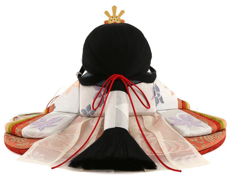 春霞 (はるがすみ) 目入頭 正絹 黒艶塗飾台