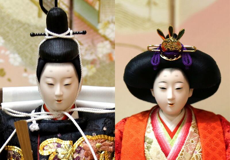 京都雛の会 平安光義作 刺繍 オリジナル頭