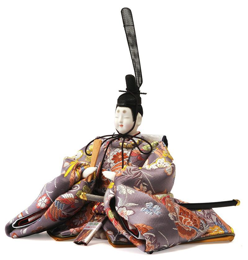 衣装着飾り 紫翠雛 芥子親王 A