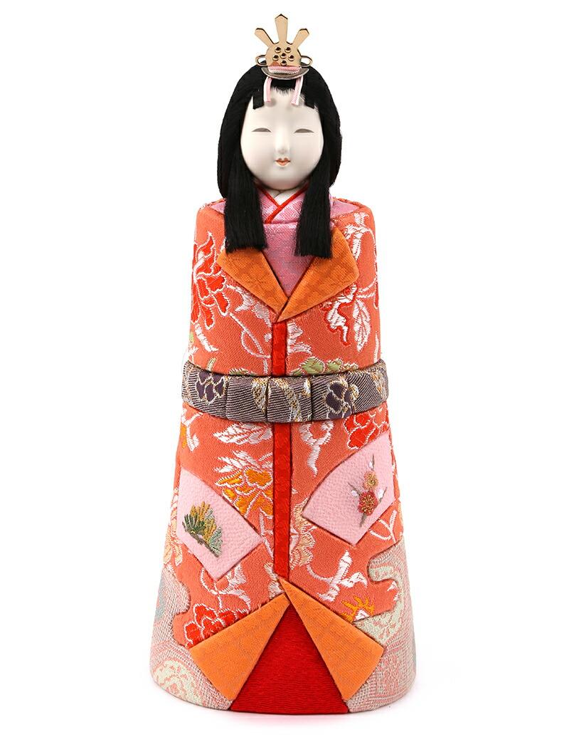 真多呂作 古今人形 洛陽立雛セット 京刺繍