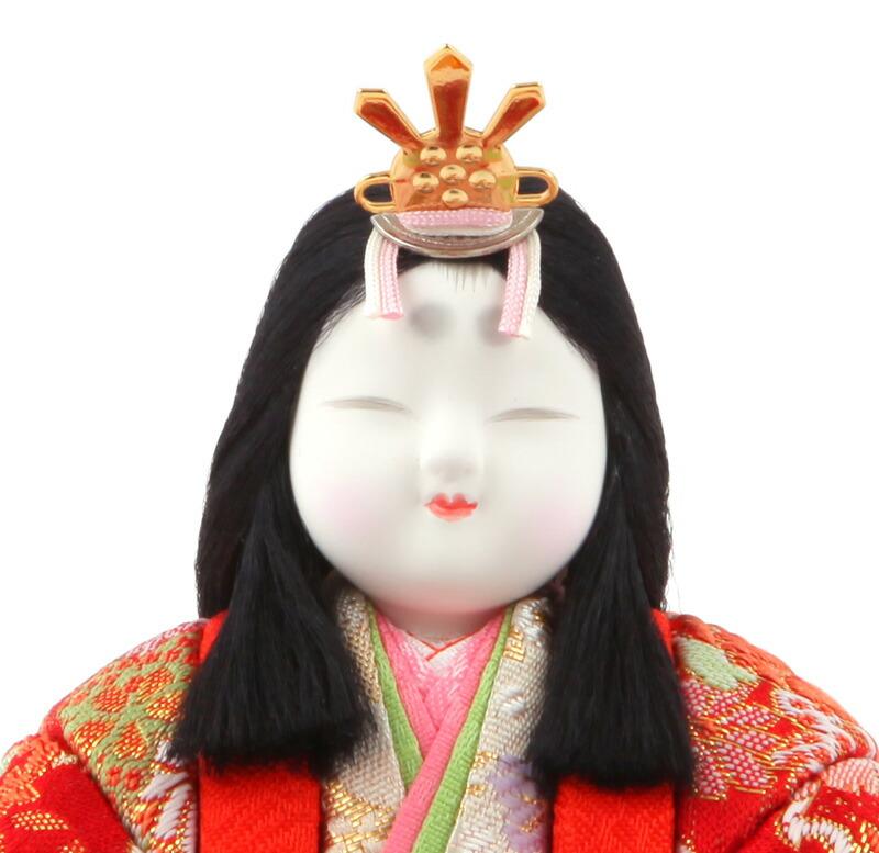 真多呂作 古今人形 瑞花雛セット