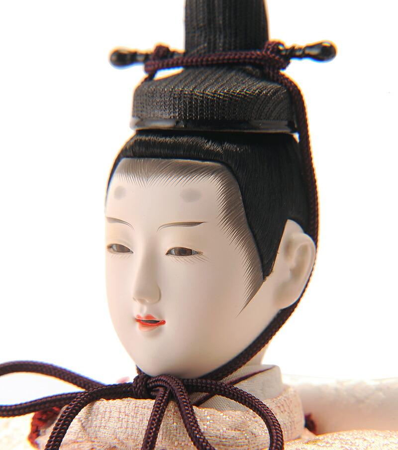 かずひこ作 江戸古典創作 宮秀雛 変形二段 金沢箔 本金手描蒔絵
