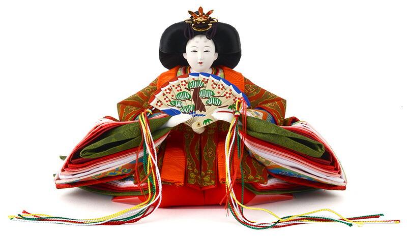 有職雛 龍村美術織物 金沢箔 内閣総理大臣賞受賞