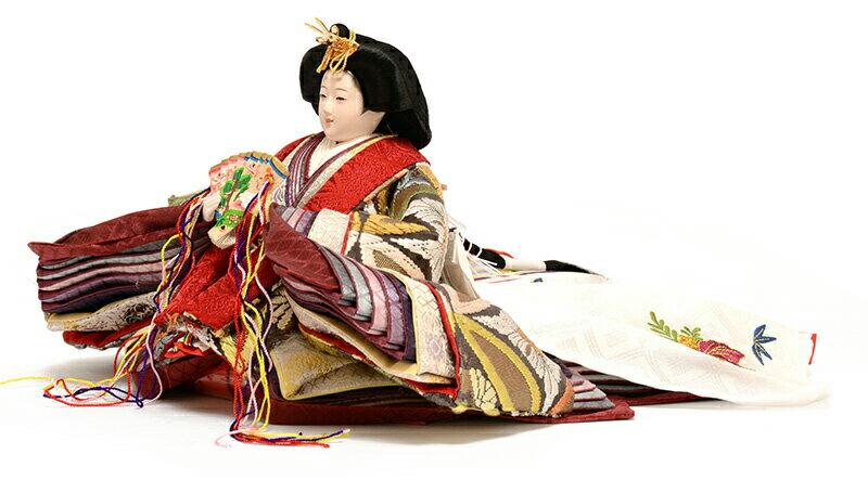 御雛 西陣織 正絹袋帯 辻が花スワロ屏風 京十番親王