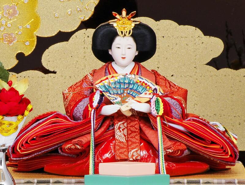 清水文平作 京都物語 束帯十二単 小三五親王 会津塗