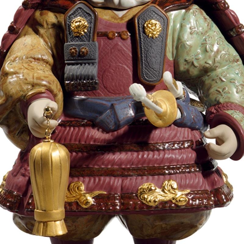 Lladro 磁器人形 若武者60周年記念モデル フルセット 限定3500体