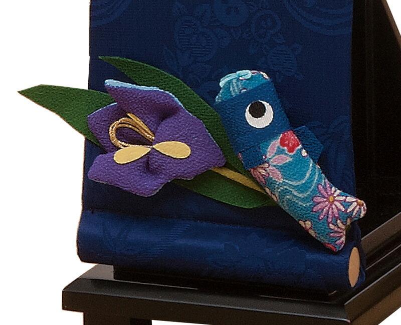 家族鯉飾り 空と鯉の物語 名前入れ 代金込み 立台付