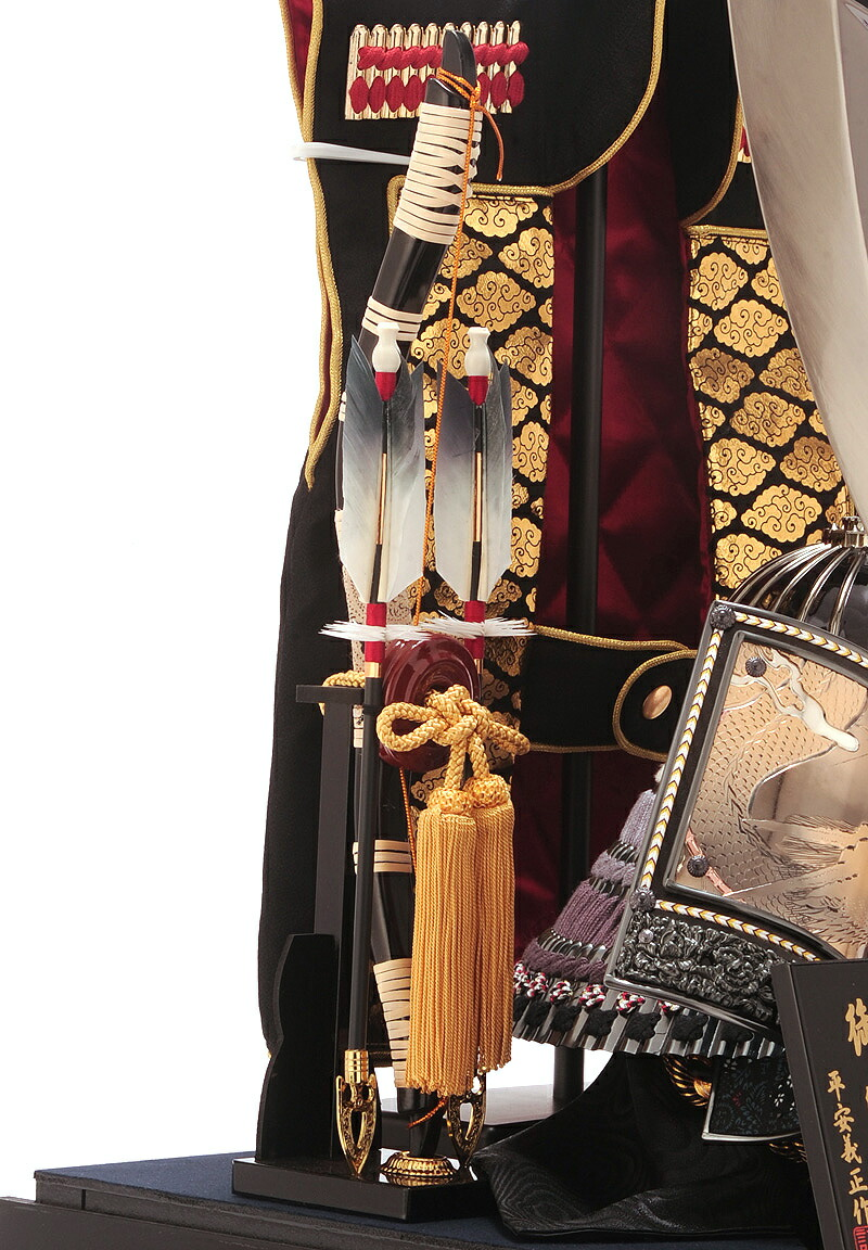 彫金龍兜 23号 陣羽織 大ハヤブサ