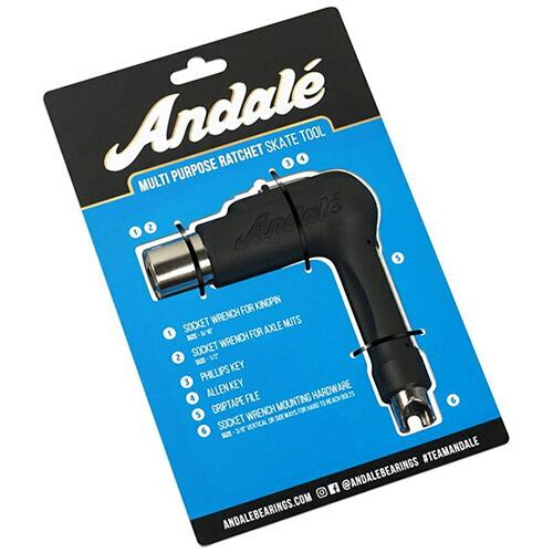 【アンダレー スケートツール】Andale Multi Purpose Black Ratchet Skate Tool ラチェット 工具 「レターパックライト対応」