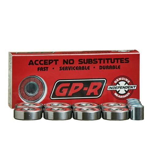 インディ ベアリング Independent Genuine Parts GP-R Bearings INDY ブラック「スマートレター便 送料無料」