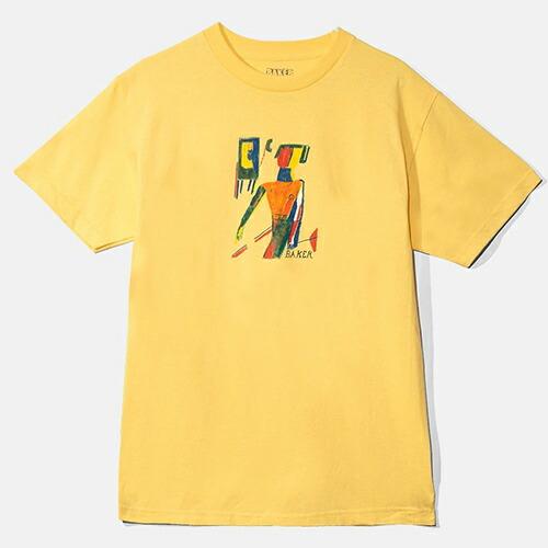 【ベイカー Tシャツ】BAKER T-SHIRTS PRESLEY BANANA TEE YELLOW 「レターパックライト対応」