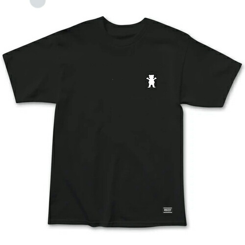 【グリズリー Tシャツ】GRIZZLY T-SHIRTS STAMPBACK BLACK TEE スタンプバック Tシャツ 黒 「レターパックライト対応」