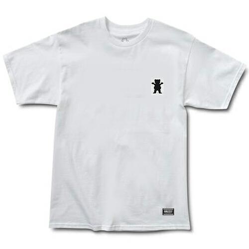 グリズリー Tシャツ GRIZZLY T-SHIRTS STAMPBACK WHITE TEE スタンプバック Tシャツ 白 「レターパックライト対応」