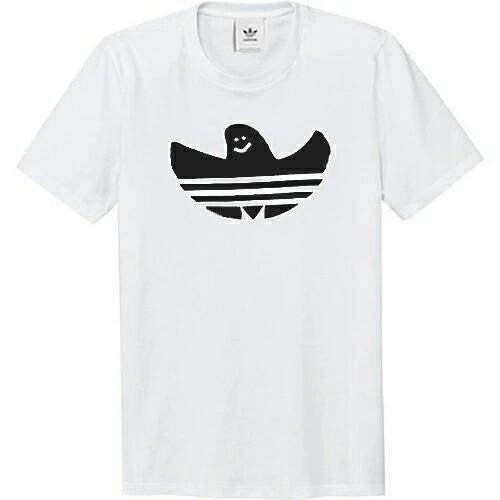 アディダス Tシャツ adidas GONZ SHMOO TEE WHITE/BLACK シュムー ホワイト/ブラック マークゴンザレス ゴンズ