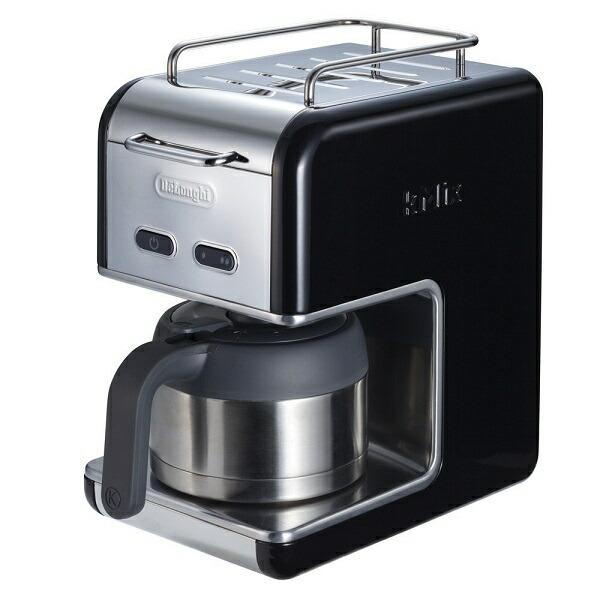 デロンギ kMix Collection ドリップコーヒーメーカー プレミアム ブラック CMB5TBK 黒 ステンレス製 保温 本格コーヒー[送料無料(一部地域を除く)] 02P03Dec16 [キッチン家電]