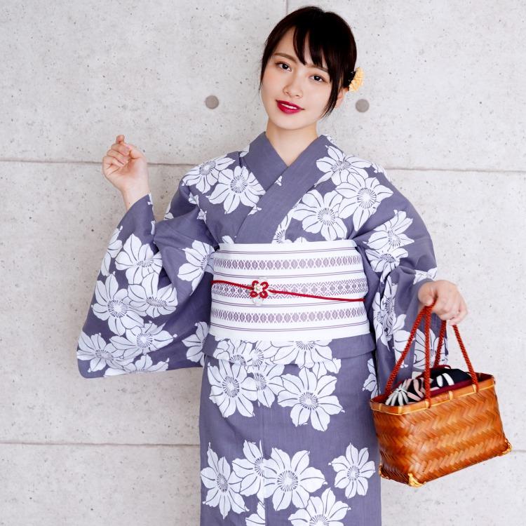 ひよこ商店-高級浴衣 大人浴衣 ママ浴衣 可愛い ポップ レトロ きれい