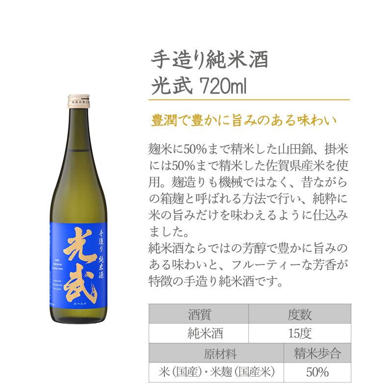手造り純米酒 720ml