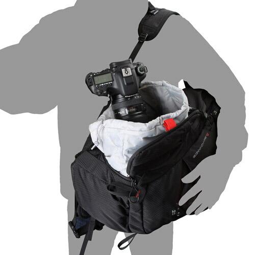 ハクバ GW-ADVANCE ピーク 20 E1 バックパック ブラック