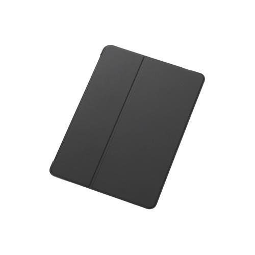 【ELECOM(エレコム)】 iPadAir2用フラップカバー(2アングルタイプ) TB-A14WVMBK メール便不可[▲][EL]