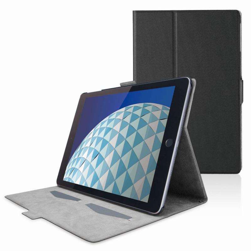 【ELECOM(エレコム)】iPad Air 2019年モデル/iPad Pro 10.5インチ 2017年モデル/フラップカバー/ソフトレザー/フリーアングル/スリープ対応/ブラック [▲][EL]
