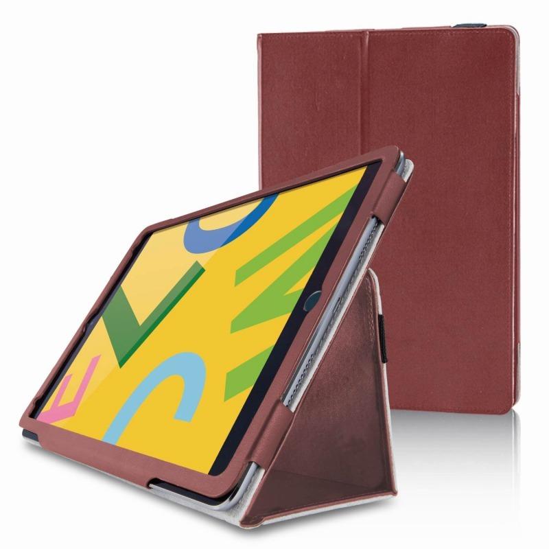 【ELECOM(エレコム)】iPad 10.2 2019年モデル/フラップケース/ソフトレザー/2アングル/軽量/ブラウン [▲][EL]