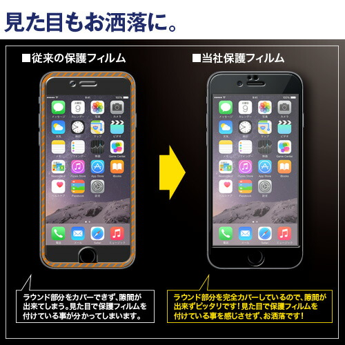 在庫限り!送料無料 iPhone6s iPhone6 専用 全面保護 液晶保護フィルム iPhone6s iPhone6 フィルム 保護フィルム フィルム 液晶保護シート iPhone