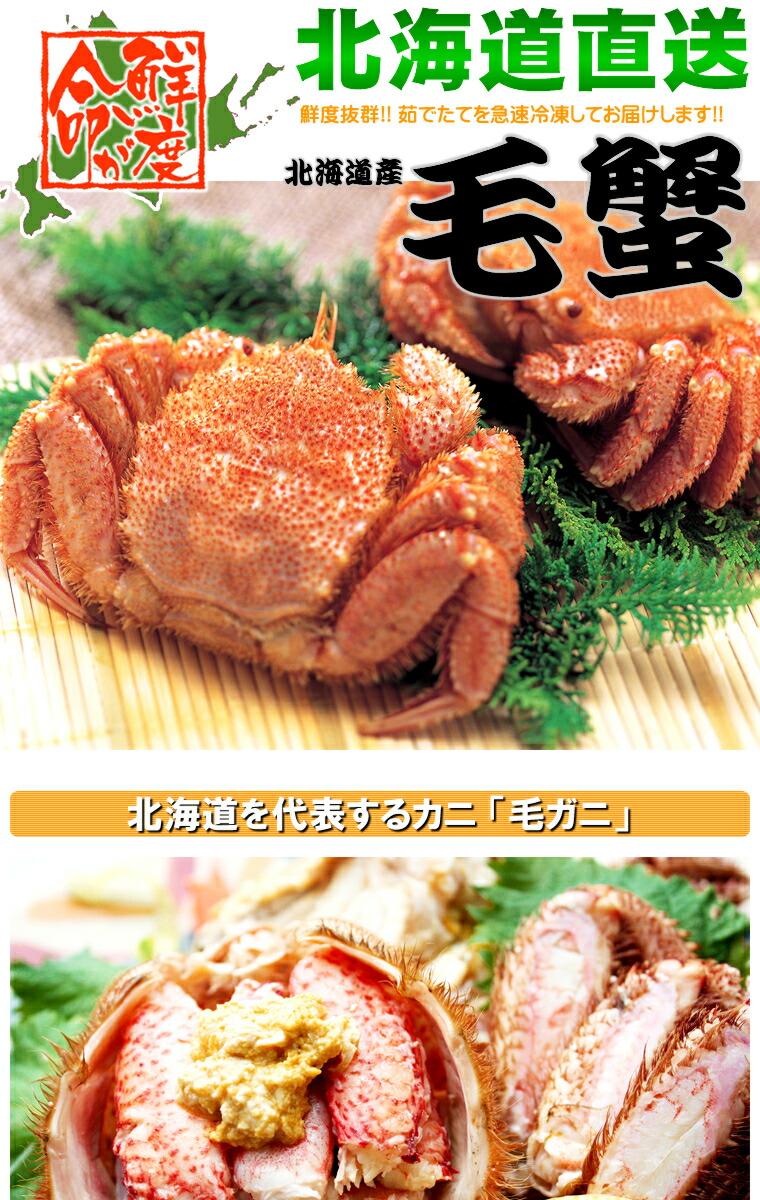 北海道産 毛ガニ/毛蟹