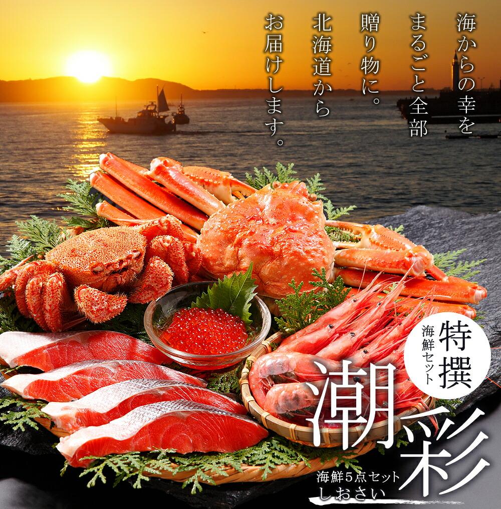 海鮮セット_北海道_海の幸_潮彩_メインイメージ
