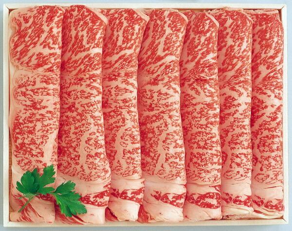 阿部牛肉加工 白老牛ロースすき焼用 約400g 【冷凍商品】